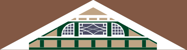 Front gable design #1