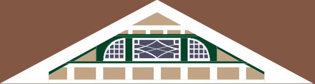 Front gable design #2