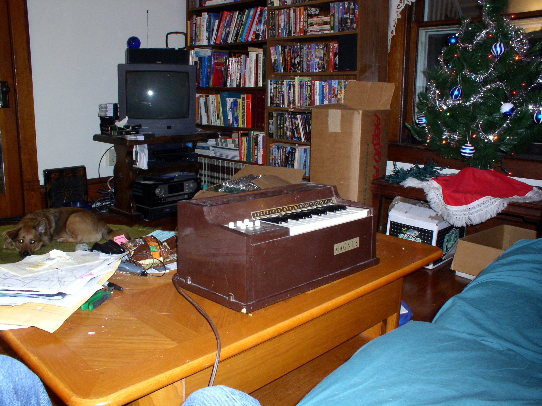 [my old brown organ]